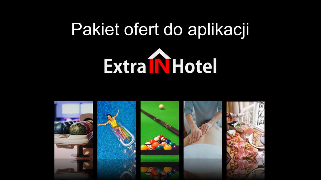Promowanie wewnętrznych atrakcji w hotelu