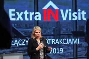 Hanna Burno podczas Kongresu Turystyki Polskiej 2019